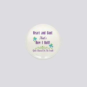 GRITS Girl Mini Button