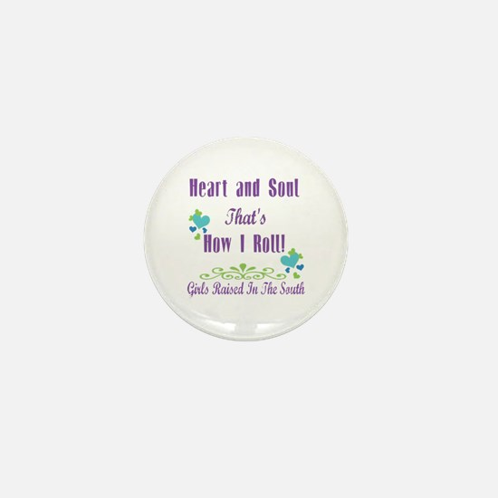 GRITS Girl Mini Button
