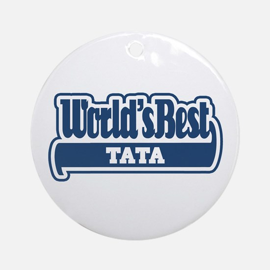 WB Dad [Romanian] Ornament (Round)