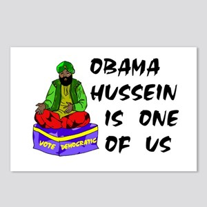 HUSSEIN OBAMA Postcards (Package of 8)