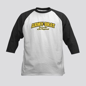 Army Brat Kids Baseball Tee