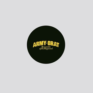 Army Brat Mini Button