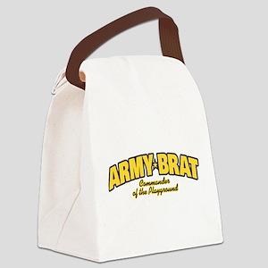 Army Brat Canvas Lunch Bag