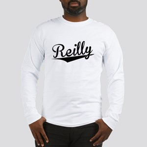 Reilly, Retro, Long Sleeve T-Shirt