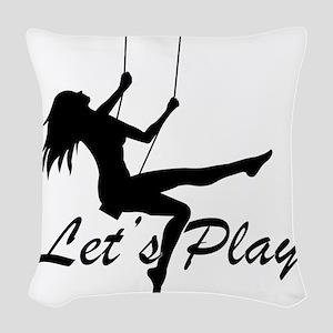 Swing Woven Throw Pillow
