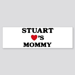 Stuart loves mommy Bumper Sticker