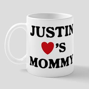 Justin loves mommy Mug