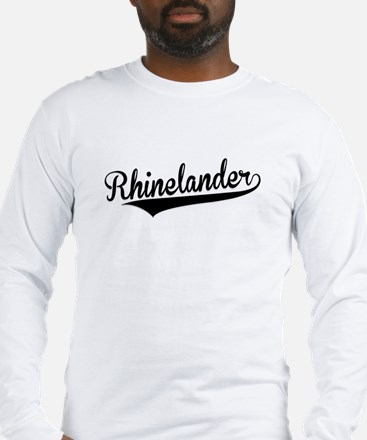 Rhinelander, Retro, Long Sleeve T-Shirt