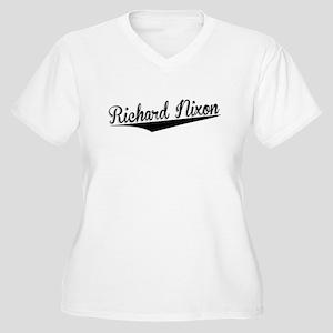 Richard Nixon, Retro, Plus Size T-Shirt