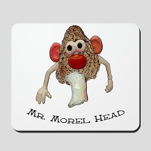 Mr. morel head morel hunting  Mousepad