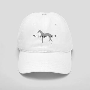 Grey Whippet Dog Cap
