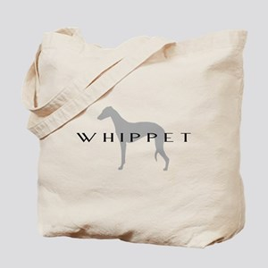 Grey Whippet Dog Tote Bag