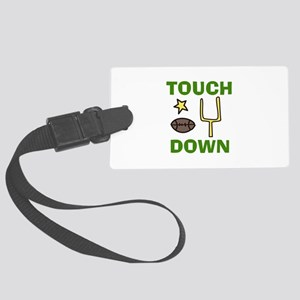 TOUCH DOWN Luggage Tag