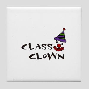 CLASS CLOWN Tile Coaster