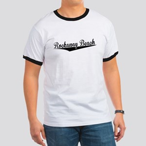 Rockaway Beach, Retro, T-Shirt