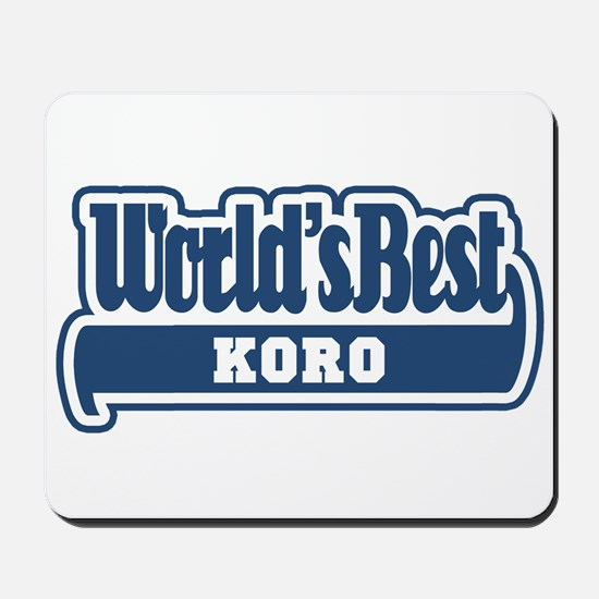 WB Dad [Rapanui] Mousepad