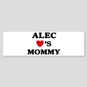 Alec loves mommy Bumper Sticker