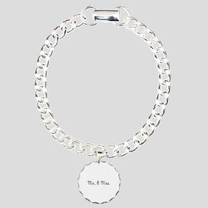 Mr. & Mrs. Charm Bracelet, One Charm