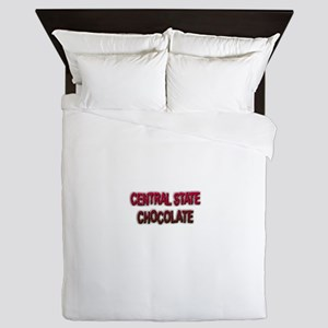 CENTRAL STATE CHOCOLATE Queen Duvet