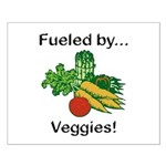 Fueled by Veggies Small Poster