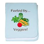 Fueled by Veggies baby blanket