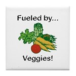 Fueled by Veggies Tile Coaster
