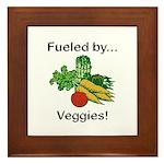 Fueled by Veggies Framed Tile
