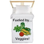 Fueled by Veggies Twin Duvet