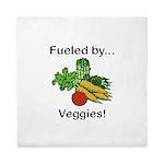 Fueled by Veggies Queen Duvet