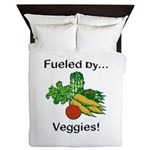 Fueled by Veggies Queen Duvet