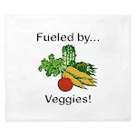 Fueled by Veggies King Duvet