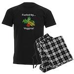 Fueled by Veggies Men's Dark Pajamas