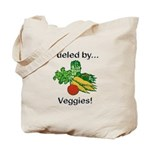 Fueled by Veggies Tote Bag