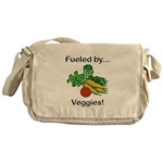 Fueled by Veggies Messenger Bag