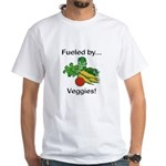 Fueled by Veggies White T-Shirt