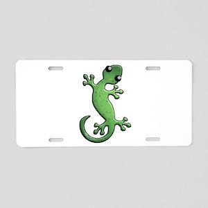 Green Rain Aluminum License Plate