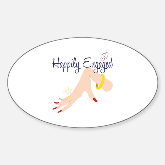 Happily Engaged Decal