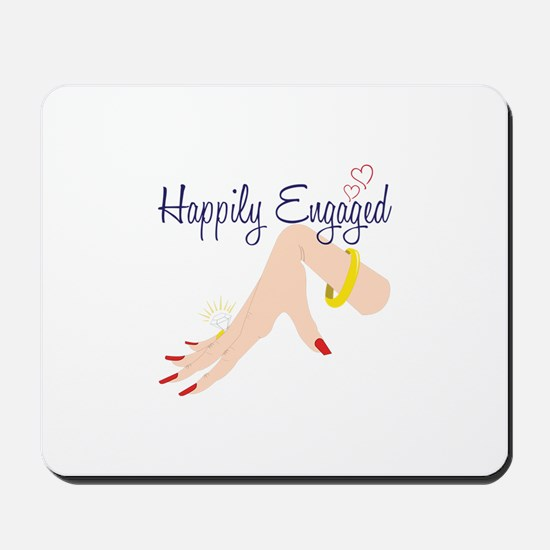 Happily Engaged Mousepad