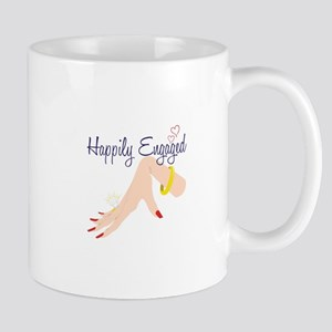 Happily Engaged Mugs