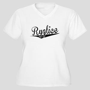 Ryglice, Retro, Plus Size T-Shirt