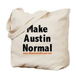 MakeAustinNormal.com Tote Bag