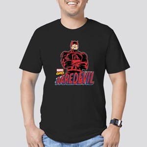 Vintage Daredevil Men's Fitted T-Shirt (dark)