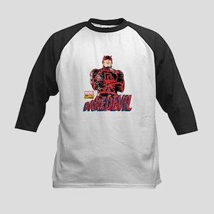 Vintage Daredevil Kids Baseball Jersey
