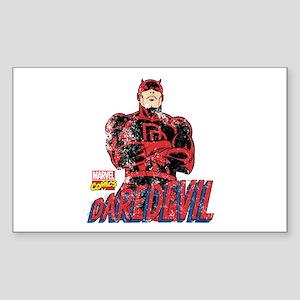 Vintage Daredevil Sticker (Rectangle)