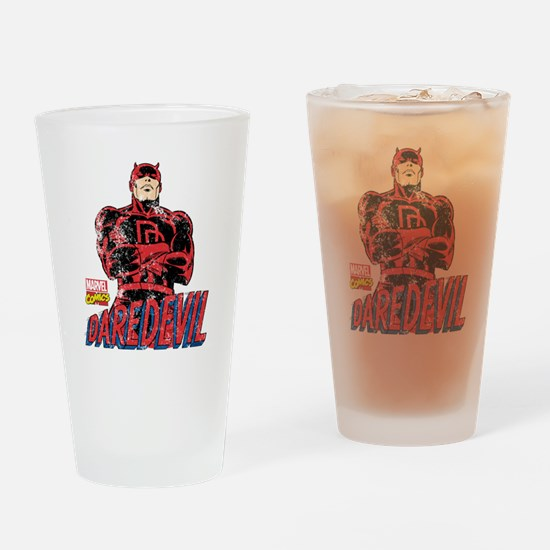 Vintage Daredevil Drinking Glass