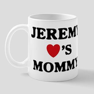 Jeremy loves mommy Mug