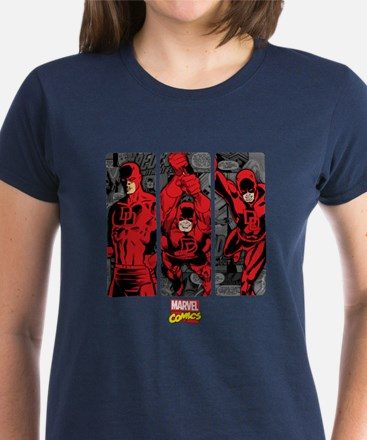 Daredevil Panels Women's Dark T-Shirt