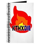 KTHXDIE in a fire Journal