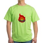 KTHXDIE in a fire T-Shirt