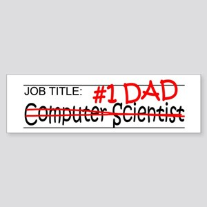 Job Computer Sci Sticker (Bumper)